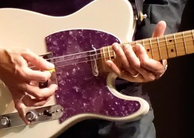 Will Johns purple guitar